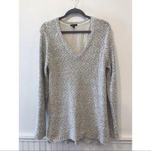 Apt.9 Sequin V Neck Sweater